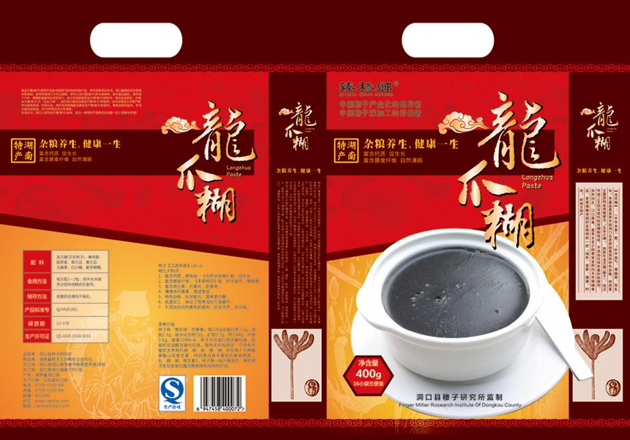 湖南穇子糊食品包装设计-东莞比高品牌设计创意公司>