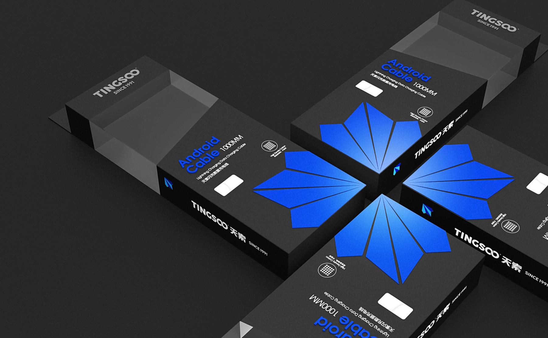 天索包装设计 比高创意R品牌设计公司 专业东莞VI设计 LOGO设计 品牌策划 商业空间设计公司 作品案例 电子产品包装